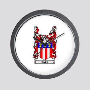 DALE Coat of Arms Wall Clock