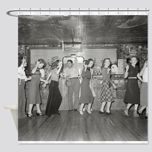 Girls Night Out, 1938 Shower Curtain