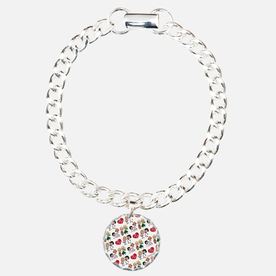 I Love Lucy Character St Bracelet