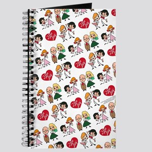 I Love Lucy Character Stick Figures Journal