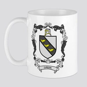 CURZON Coat of Arms Mug