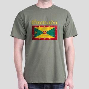 Grenada Flag Dark T-Shirt