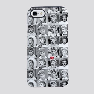 I Love Lucy Face Collage iPhone 7 Tough Case