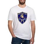USS AJAX Fitted T-Shirt