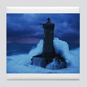 Lighthouse Tile Coaster