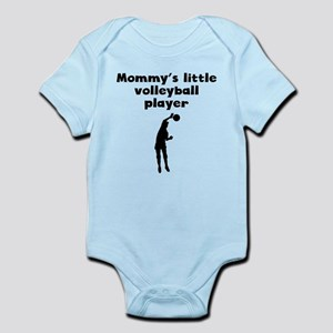 Mommys Little Volleyball Player Body Suit