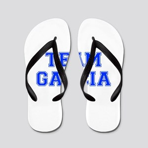 team GARCIA-var blue Flip Flops