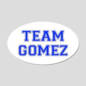 team GOMEZ-var blue Wall Decal