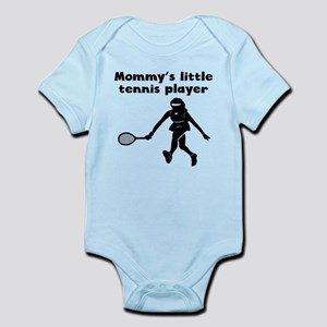 Mommys Little Tennis Player Body Suit
