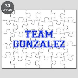 team GONZALEZ-var blue Puzzle