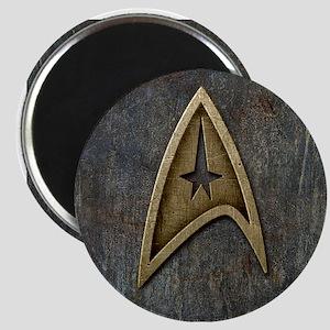 Star Trek Insignia Grunge Magnet