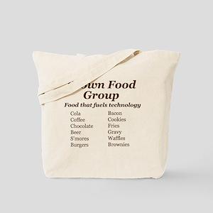 Brown Food Group Tote Bag