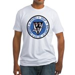 USS HALSEY Fitted T-Shirt