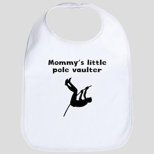 Mommys Little Pole Vaulter Bib