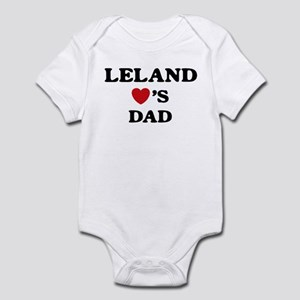 Leland loves dad Infant Bodysuit
