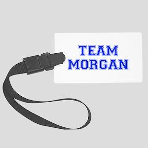 team MORGAN-var blue Luggage Tag