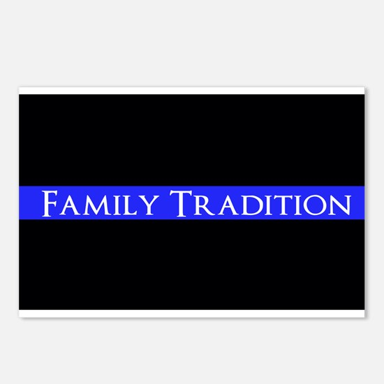 Police Family Tradition Postcards (Package of 8)