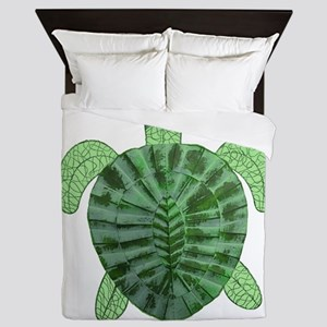 TURTLE TIMES Queen Duvet