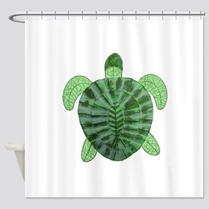 TURTLE TIMES Shower Curtain