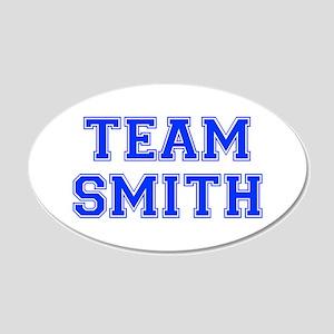 team SMITH-var blue Wall Decal