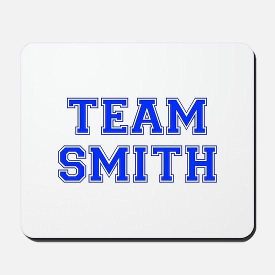 team SMITH-var blue Mousepad