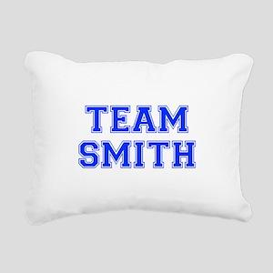 team SMITH-var blue Rectangular Canvas Pillow