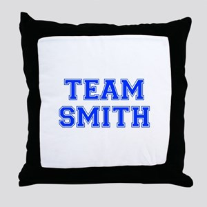 team SMITH-var blue Throw Pillow