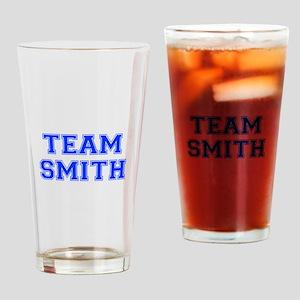 team SMITH-var blue Drinking Glass