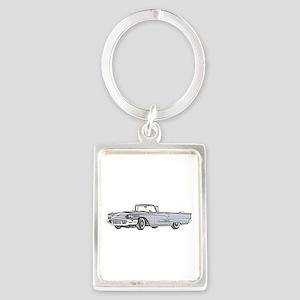 1958 Thunderbird Portrait Keychain