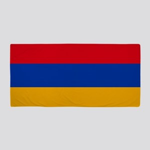 Flag of Armenia Beach Towel