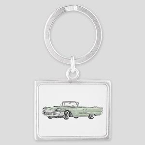 1958 Thunderbird Landscape Keychain