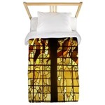 Autumn Stained Glass Twin Duvet