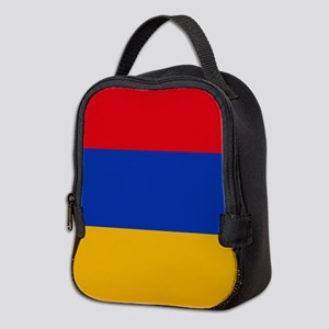 Flag of Armenia Neoprene Lunch Bag