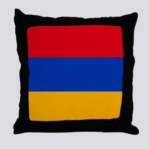 Flag of Armenia Throw Pillow