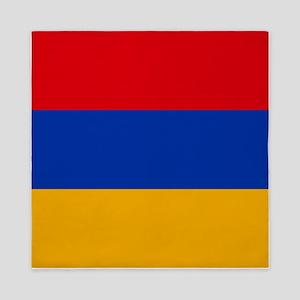 Flag of Armenia Queen Duvet