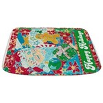 Happy Holidays Bathmat