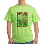 Happy Holidays Green T-Shirt