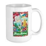 Happy Holidays Large Mug