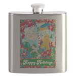 Happy Holidays Flask