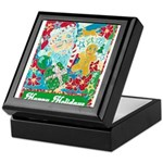 Happy Holidays Keepsake Box