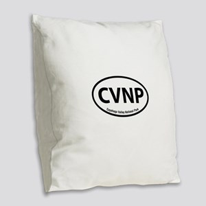CVNP Burlap Throw Pillow