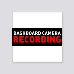 Dashcam Recording Sticker