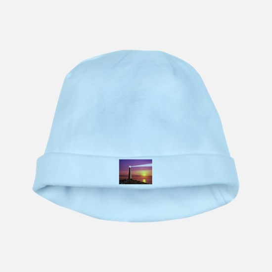 Lighthouse baby hat