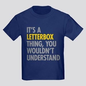 Its A Letterbox Thing Kids Dark T-Shirt