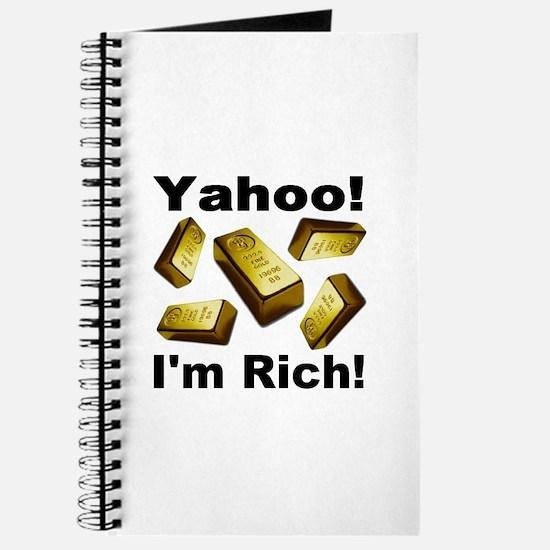 Yahoo! I'm Rich! Journal