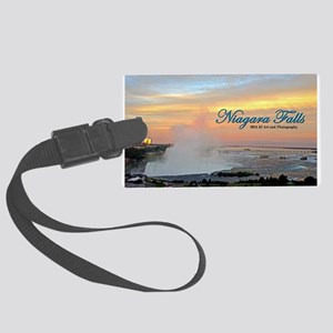 Niagara Falls Sunset Large Luggage Tag