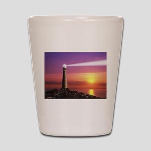 Lighthouse Shot Glass