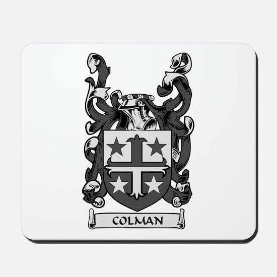 COLMAN Coat of Arms Mousepad