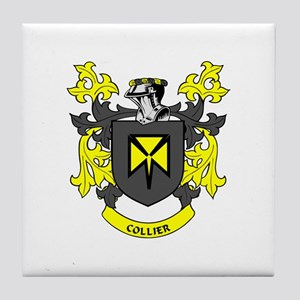 COLLIER Coat of Arms Tile Coaster