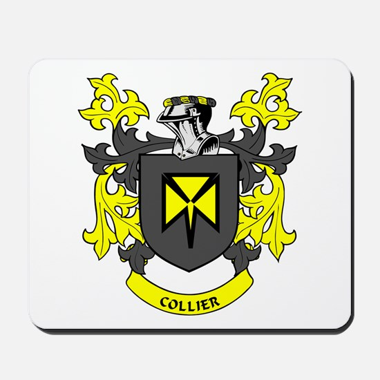 COLLIER Coat of Arms Mousepad
